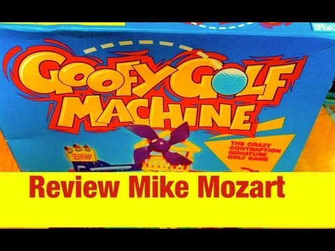 Goofy Golf Machine Game Like