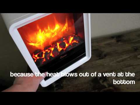 Crane Electric Fireplace Heater - YouTube