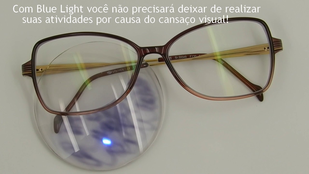 Conheça as lentes Blue Light - YouTube c894283612