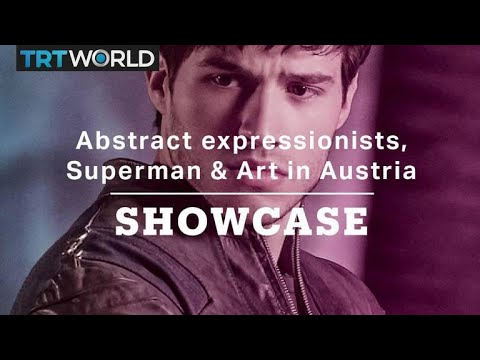 Abstract expressionists, Superman & Art in Austria