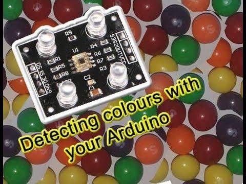 Using The Colour Sensor TCS230 Or TCS3200
