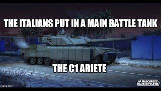 Armored Warfare: The Italian Brick (C1 Ariete Review)