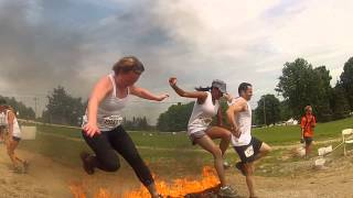 Barrie Warrior Dash 2014 With High Octane Training
