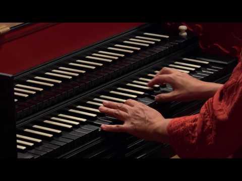 J.S. Bach: Fantasia in A Minor BWV 904; Yuko Tanaka, harpsichord 4K UHD
