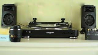 audio technica lp60 unboxing review