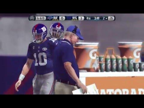 Madden 16: SUPER BOWL CLASSIC SERIES: SUPER BOWL XXV Giants vs Bills
