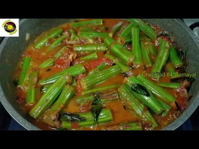 Drumstick Masala Curry/Murungakkai  Masala Pirattal -Varuval/ முருங்கைகாய் மசாலா வறுவல்-பிரட்டல்