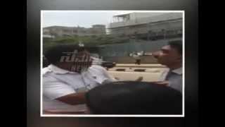 TRAFFIC POLICE FIGHT  @ Bangalore - Indiranagar