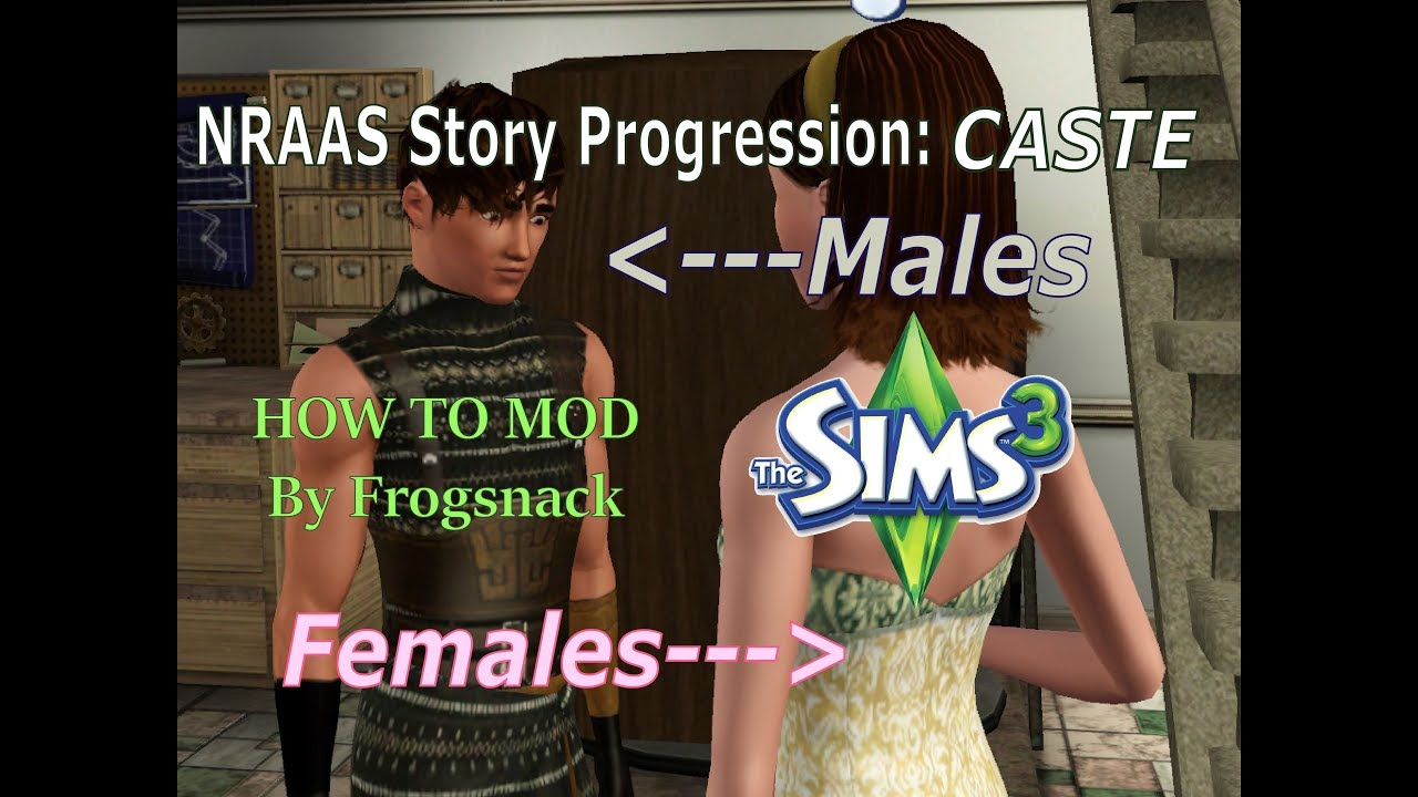 Sims 3 MOD Overview NRAAS Story Progression Caste System