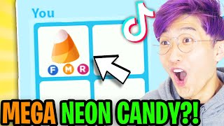 Can We Get These NEW ADOPT ME HALLOWEEN TIK TOK HACKS To ACTUALLY WORK!? (MEGA NEON CANDY!?)