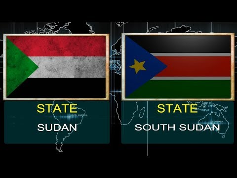 SUDAN VS SOUTH SUDAN -  Military Power Comparsion (2018).