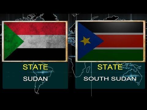SUDAN VS SOUTH SUDAN -  Military Power Comparsion (2017 - 2018).