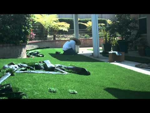 Synthetic Grass Installation - Back & Side Yard - Chula Vista, CA - 1104