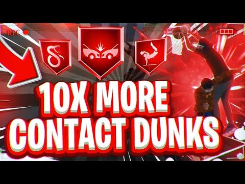 Download How To Get 10x MORE CONTACT DUNKS NBA 2k21   Contact Dunks NBA 2k21 REQUIREMENTS! BEST Dunk Packages