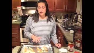 Rose Romanos: Baked Mozzarella Sticks