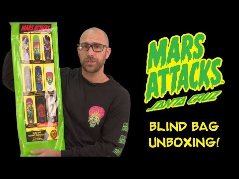 Mars Attacks x Santa Cruz - First look!