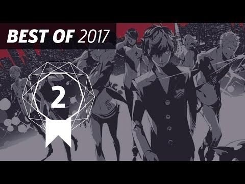 GameSpot's Best of 2017 #2: Persona 5