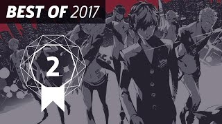 GameSpot's Best of 2017 #2: Persona 5