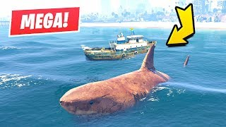 GTA 5 - Hunting the Megalodon Shark!