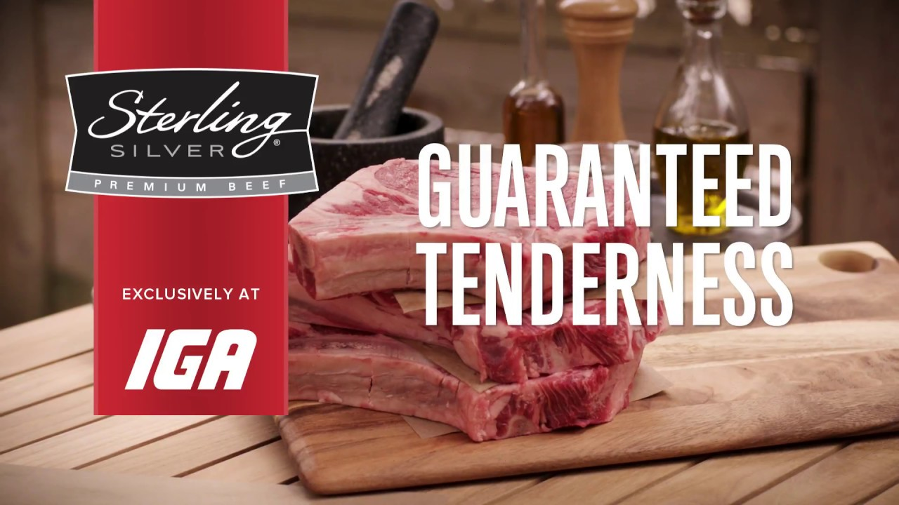 Sterling Silver Premium Beef