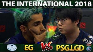 EG vs PSG.LGD – EṖIC TI8 SEMI-FINAL – THE INTERNATIONAL 2018 DOTA 2 #TI8