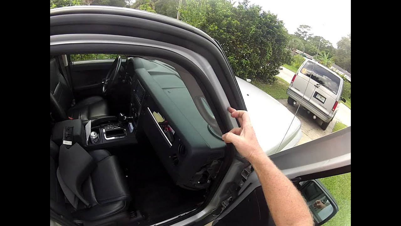 Jeep Commander Leaking Sunroof Youtube