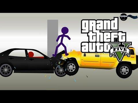 Grand Theft Auto V - [Stickpage.com]