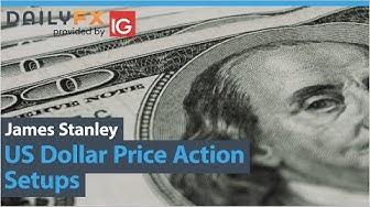 US Dollar Price Action Setups: EUR/USD, GBP/USD, USD/CAD, USD/CHF