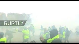LIVE: Yellow Vest protest hits Paris