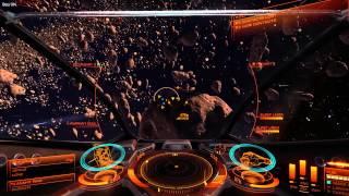 Elite Dangerous Asteroid Belt Bounty Hunting