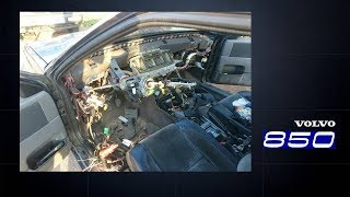 Ремонт передней панели Volvo 850