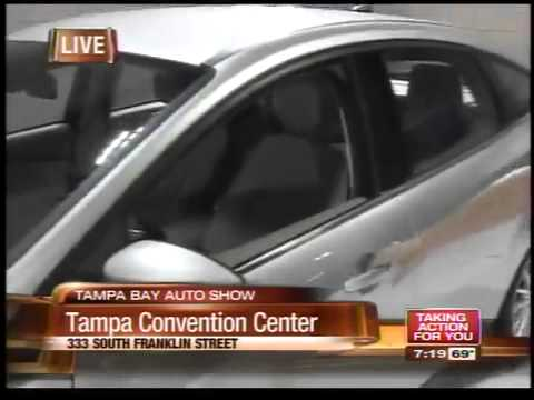 Tampa Bay Auto Show YouTube - Tampa convention center car show