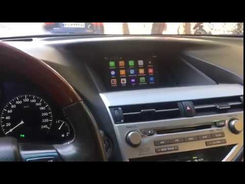 Lexus Rx350 2009 Android 4 Video Interface Factory Mouse Control By Lsailt