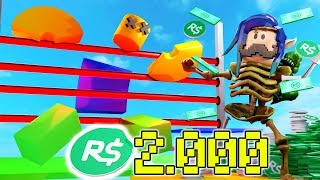 SI TERMINA ESTE OBBY USTED GAIN 2,000 ROBUX!!! ROBLOX
