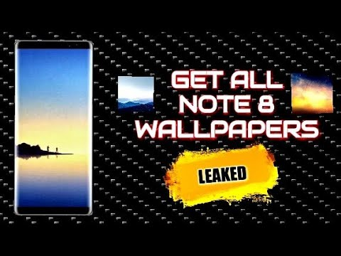 Get - All Note 8 Wallpaper (LEAKED) - YouTube