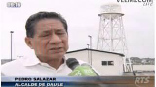 REPORTAJE PLANTA POTABILIZADORA DE AGUA DEL CANTÓN DAULE