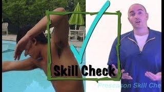 Freestyle/Backstroke Stroke Instruction (swim technique lesson)