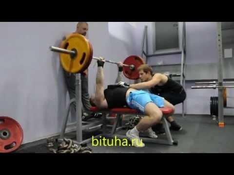 Павел Крейнис: Адская тренировка грудных мышц и трицепсов