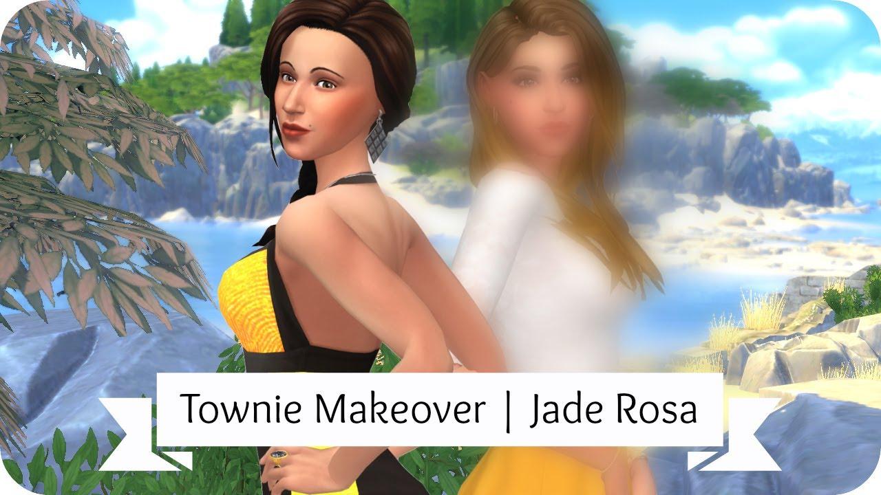Repeat Sims 4 Townie Makeover | Jade Rosa by Elliandra
