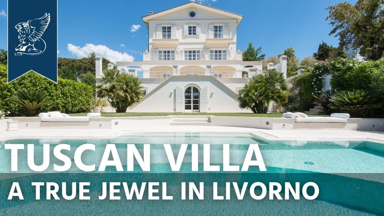 Luxury villa for sale on the Tuscan coast | Livorno, Italy - Ref  0731