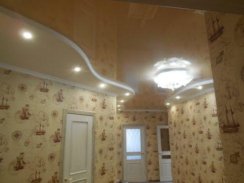 КАК СДЕЛАТЬ ВОЛНОЙ потолок из ГИПСОКАРТОНА своими руками, КАК СДЕЛАТЬ потолок из гипсокартона видео