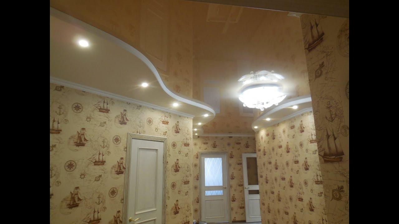 2 уровневый потолок из гипсокартона своими руками фото 463
