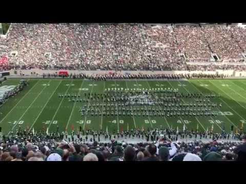 The Michigan State Alumni Band Sept. 28, 2019