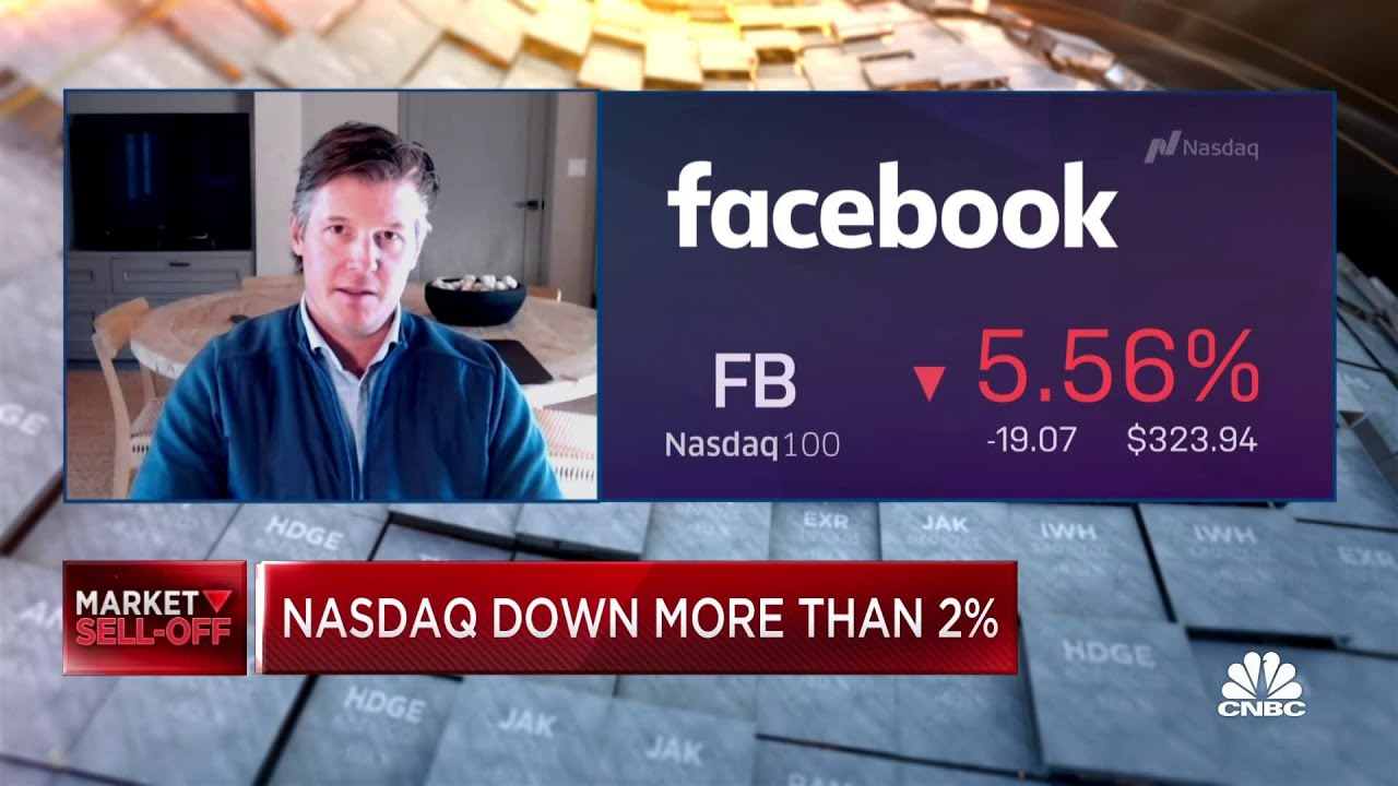 Facebook stock falls as global outage continues