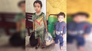 (VTC14)_TP HCM: Bị bỏ rơi, hai bé trai 3 và 5 tuổi lang thang tìm bố mẹ lúc nửa đêm
