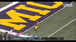 2019: Michigan 44 Michigan State 10