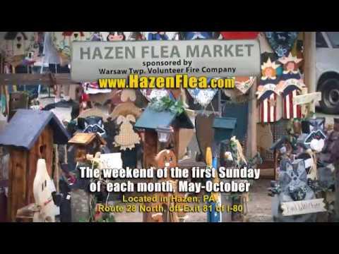 Hazen Flea Market & Chicken Hill Distillery