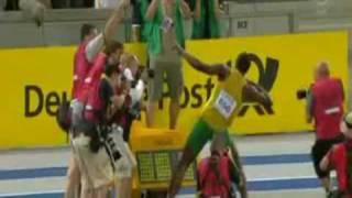 Usain Bolt WORLD RECORD 9.58 100m Final in Berlin [HIGH QUALITY]