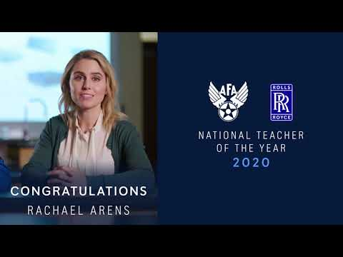 Rolls-Royce | Air Force Association National Teacher of the Year 2020