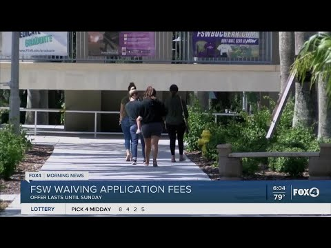 Florida Southwestern State College waives entry fees